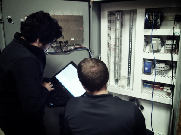 NorthWind Engineers testing a control panel