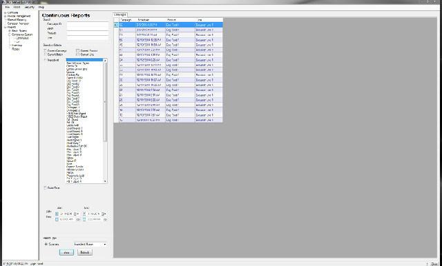 BatchLOGIX Reports Screen