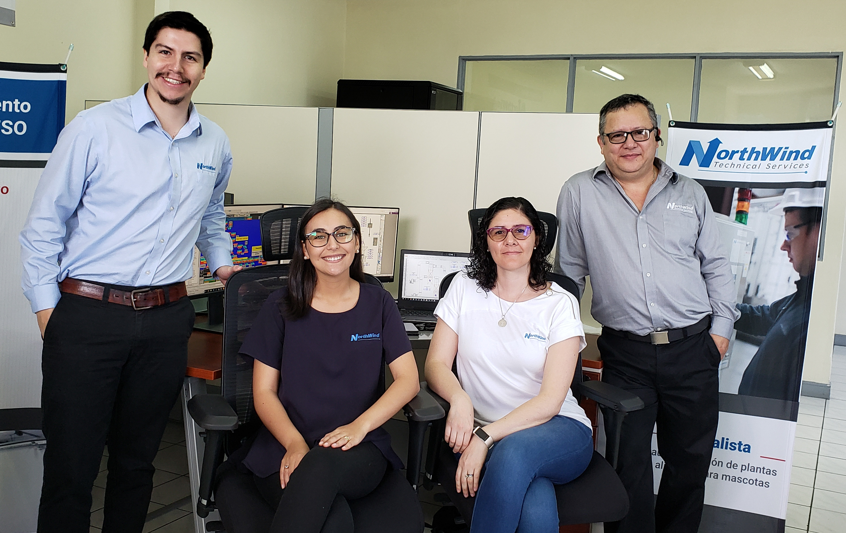 Employees of the Latin America Office
