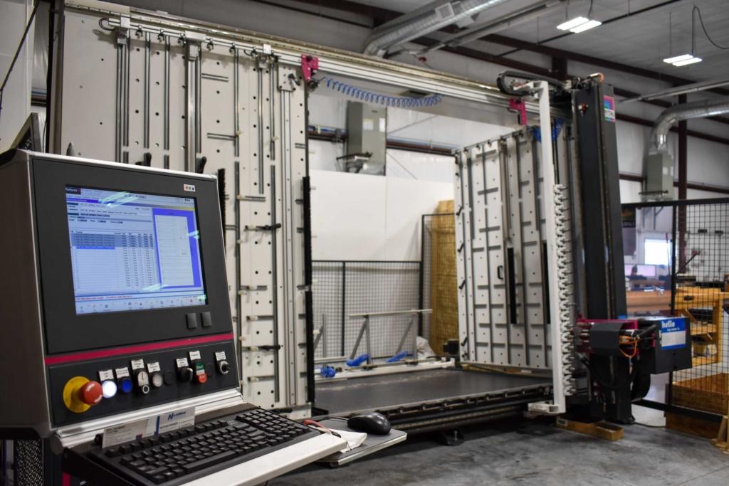 Panel Cutting Machine Operator Interface