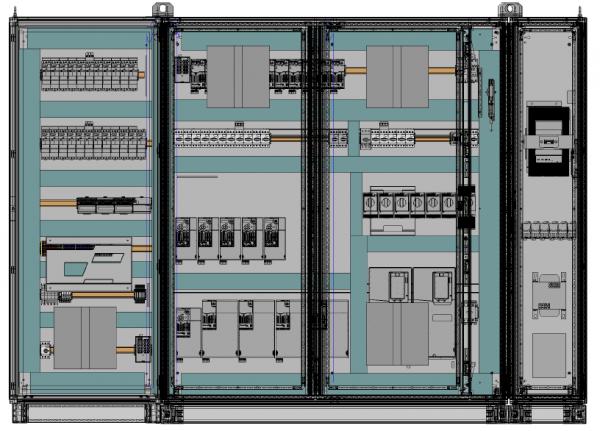 3D Motor Control Panel